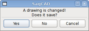 SagCAD Does it save?
