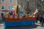 Float of vikings