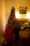 Tree decorating continued